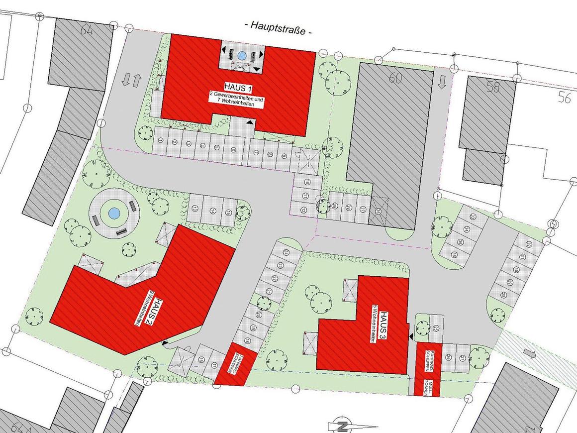 """Wohnpark, geplant von """"diePlanerei"""""""