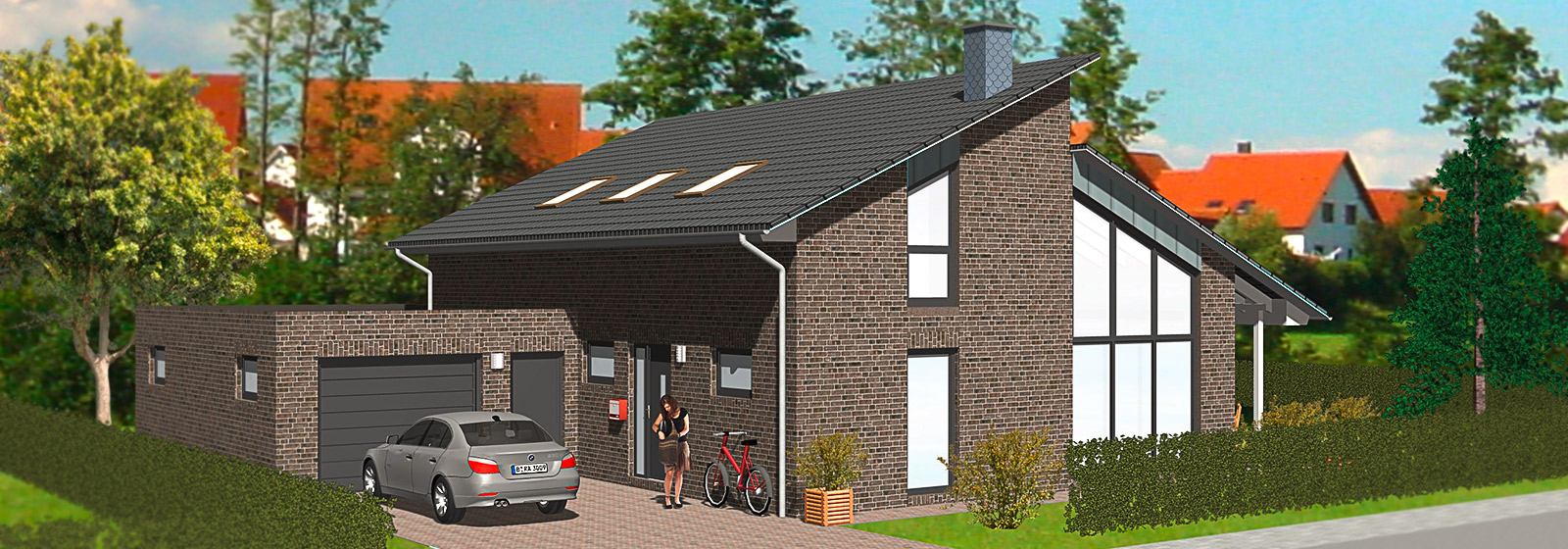 pultdachhaus dieplanerei bauplanung mehr. Black Bedroom Furniture Sets. Home Design Ideas